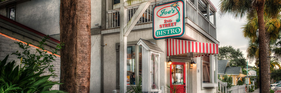 Joe's 2nd Street Bistro - Restaurant Fernandina Beach, FL